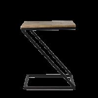 Стол журнальный в стиле лофт 10