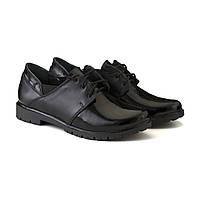 Закрытые кожаные туфли на шнуровке от производителя 36, 39, 40