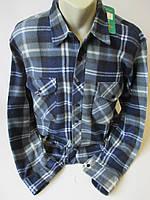 Мужские рубашки из флиса на пуговицах., фото 1