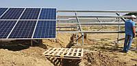 Подконструкция под промышленные солнечные батареи