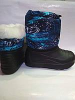 Детские зимнии сапоги ,сноубутсы для  мальчика , фото 1