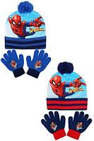 Шапки+перчатки для мальчиков оптом, Disney, 10*16 см, арт. SP-A-KNSET-106
