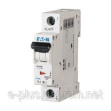 Автоматический выключатель 1-фазный PL4 Eaton 10 Ампер, тип «C»