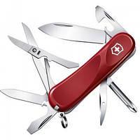 Нож Складной Мультитул Викторинокс Victorinox EVOLUTION 16 (85мм, 14 функций), красный 2.4903.E