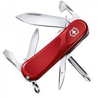 Нож Складной Мультитул Викторинокс Victorinox EVOLUTION S111 (85мм, 12 функций), красный 2.4603.SE