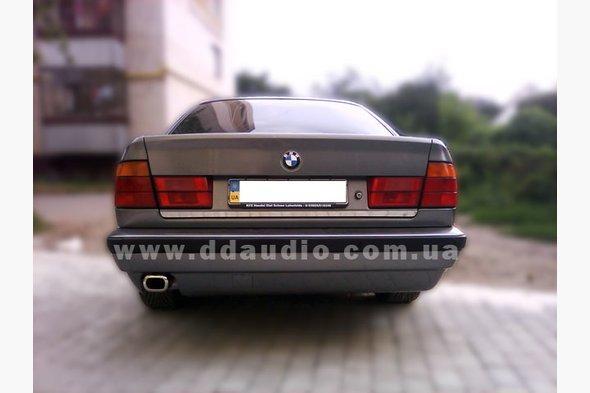 Кромка багажника (нерж.) - BMW 5 серия E-34 1988-1995 гг.