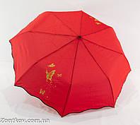 """Зонтик женский полуавтомат с бабочкой от фирмы """"Flagman"""""""