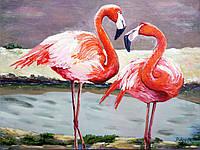 """Картина """" Фламинго"""""""