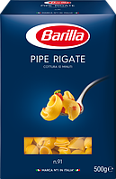 Макарони Піпе Рігате №91 BARILLA 500г