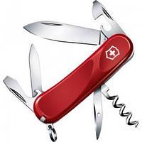Нож Складной Мультитул Викторинокс Victorinox EVOLUTION 10 (85мм, 13 функций), красный 2.3803.E