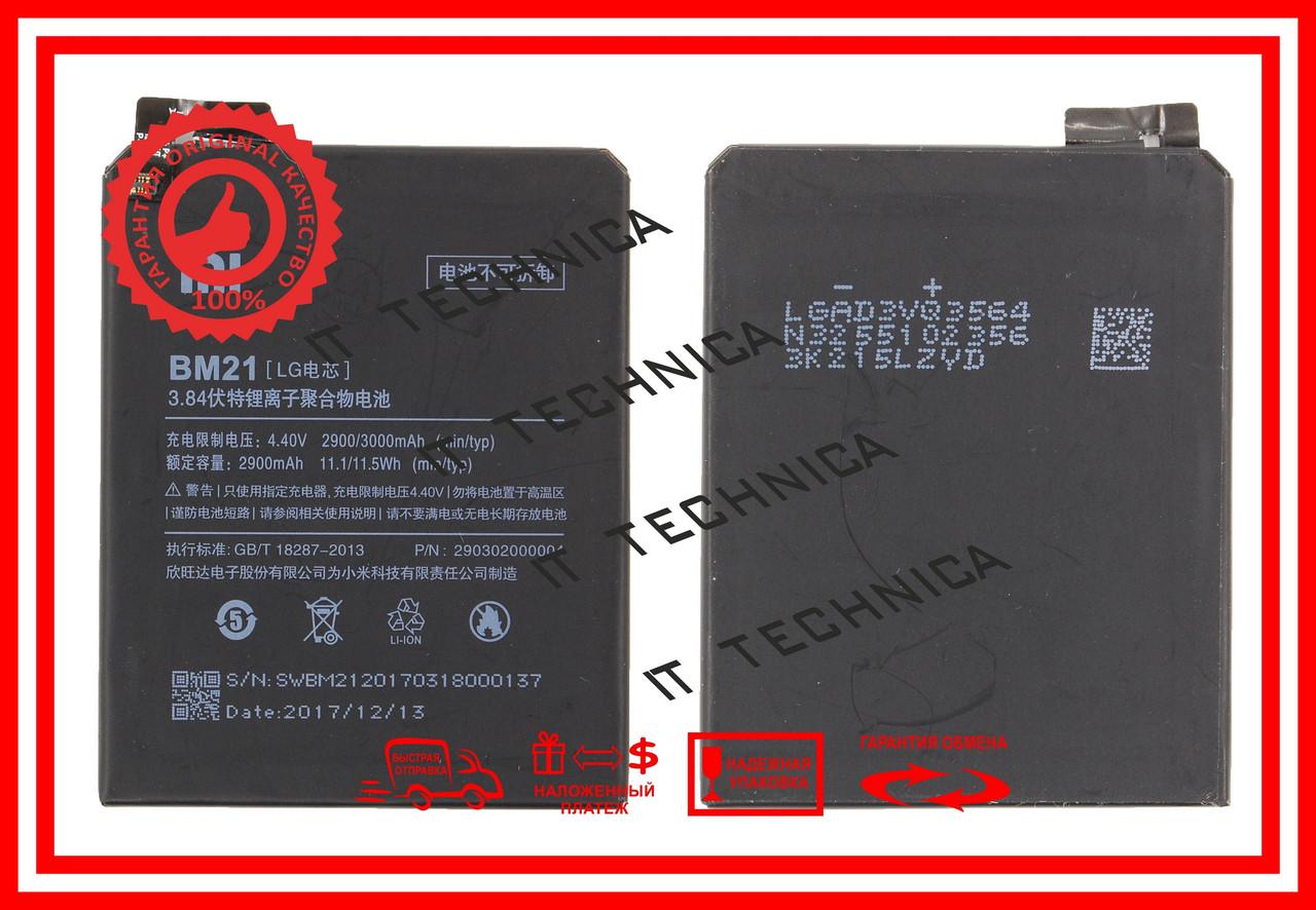 Батарея XIAOMI BM21 XIAOMI Mi Note Li-Polymer, 3.84V, 2900mAh ОРИГІНАЛ