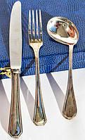 Подарочный набор для ребенка! Ложка,вилка,нож! Серебро,800. Germany!