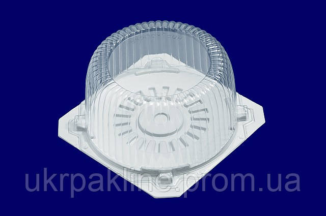 Одноразовая упаковка для тортов арт.206