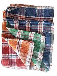 Кухонные Темные вафельные полотенца 35х65 в упаковке 12 шт. хлопок