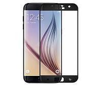 Защитное стекло Samsung S7 / G930 Full cover черный 2.5D 0.26mm 9H