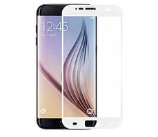 Защитное стекло Samsung S7 / G930 Full cover белый 2.5D 0.26mm 9H