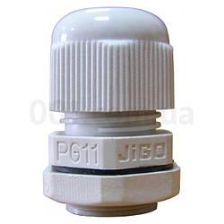 Сальник PG11 диаметр кабеля 5-10 мм IP54, АСКО-УКРЕМ