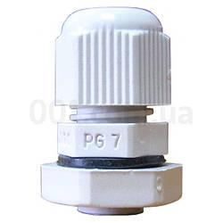 Сальник PG7 диаметр кабеля 3.5-6 мм IP54, АСКО-УКРЕМ