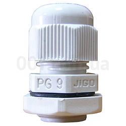 Сальник PG9 диаметр кабеля 4-8 мм IP54, АСКО-УКРЕМ