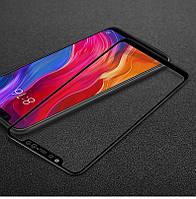 """Защитное стекло Xiaomi Mi 8 6.21"""" Full cover черный 0,26мм в упаковке"""