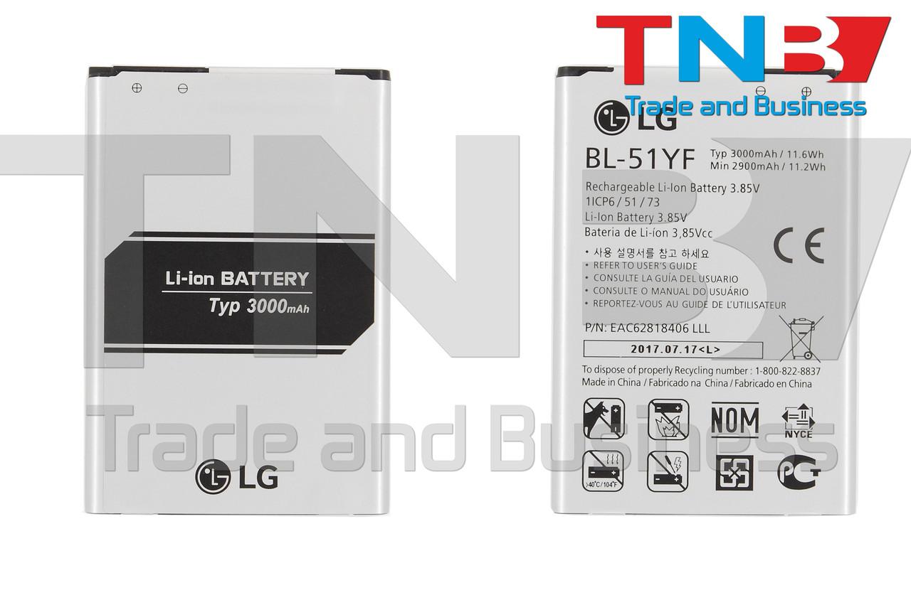 Батарея LG BL-51YF LG G4 F500, G4 H810, G4 H811, G4 H815, G4 H818N, G4 H818P Li-ion 3.85V 3000mAh ОРИГИНАЛ