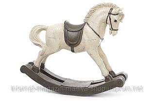Декоративная фигура 838-111 Лошадка-качалка 40см