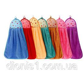 Кухонные полотенца Петельки микрофибра для кухни в ассортименте 12 шт в упаковке размер 30х50