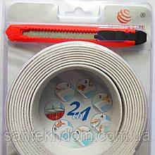 Силіконова герметизуюча стрічка 41 мм × 3 м