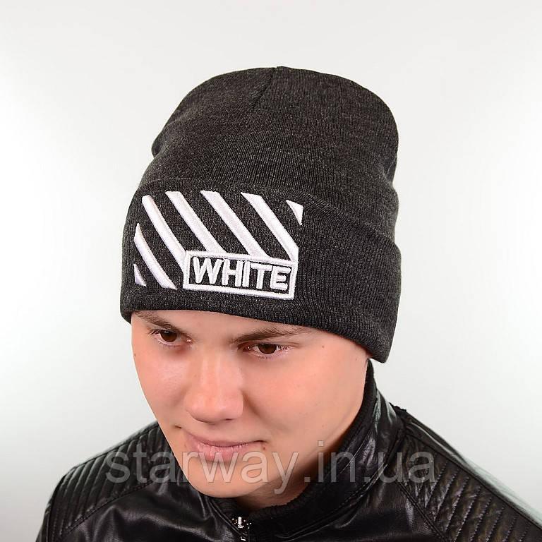 Шапка стильная Off White логотип вышит