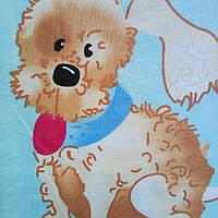 """Постельное белье для новорожденных """"Собачка """"."""