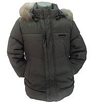 Детская демисезонная куртка  для мальчика, 237XAKI 110, 116 см Хаки