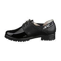 Женские полуботинки, кожаные туфли