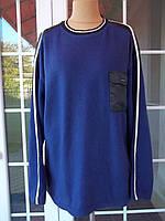 (52/54р) Новая Флисовый свитер кофта джемпер Большой размер