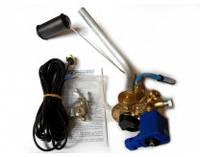 Мультиклапан для цилиндрических баллонов Cetino 315/30 под трубку  д6 с сенсором уровня газа+эл.кабель без ВЗУ