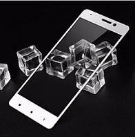 Защитное стекло Xiaomi Mi5S+ / Mi5S Plus Full cover белый 2.5D 0.26mm 9H