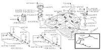 Проводка топливного бака Subaru Forester S12, 2007-2012, 81803SC000