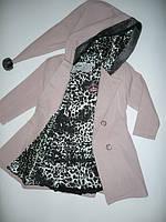 Комплект для девочек София, пальто, платье  Артикул 724