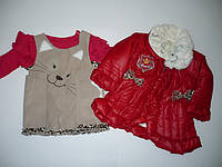 Комплект для девочек Капитоне, куртка, реглан, сарафан  Артикул 742, фото 1