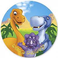 Трубочка для напитков  Динозаврики лицензионнвя