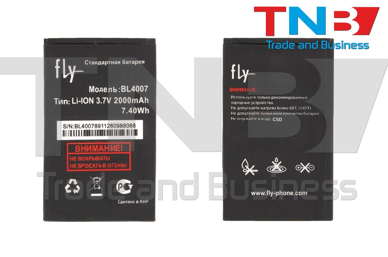 Батарея FLY BL4007 200100771 200101103 200101104 FLY DS123, DS130 Li-ion 3.7V 2000mAh ОРИГІНАЛ