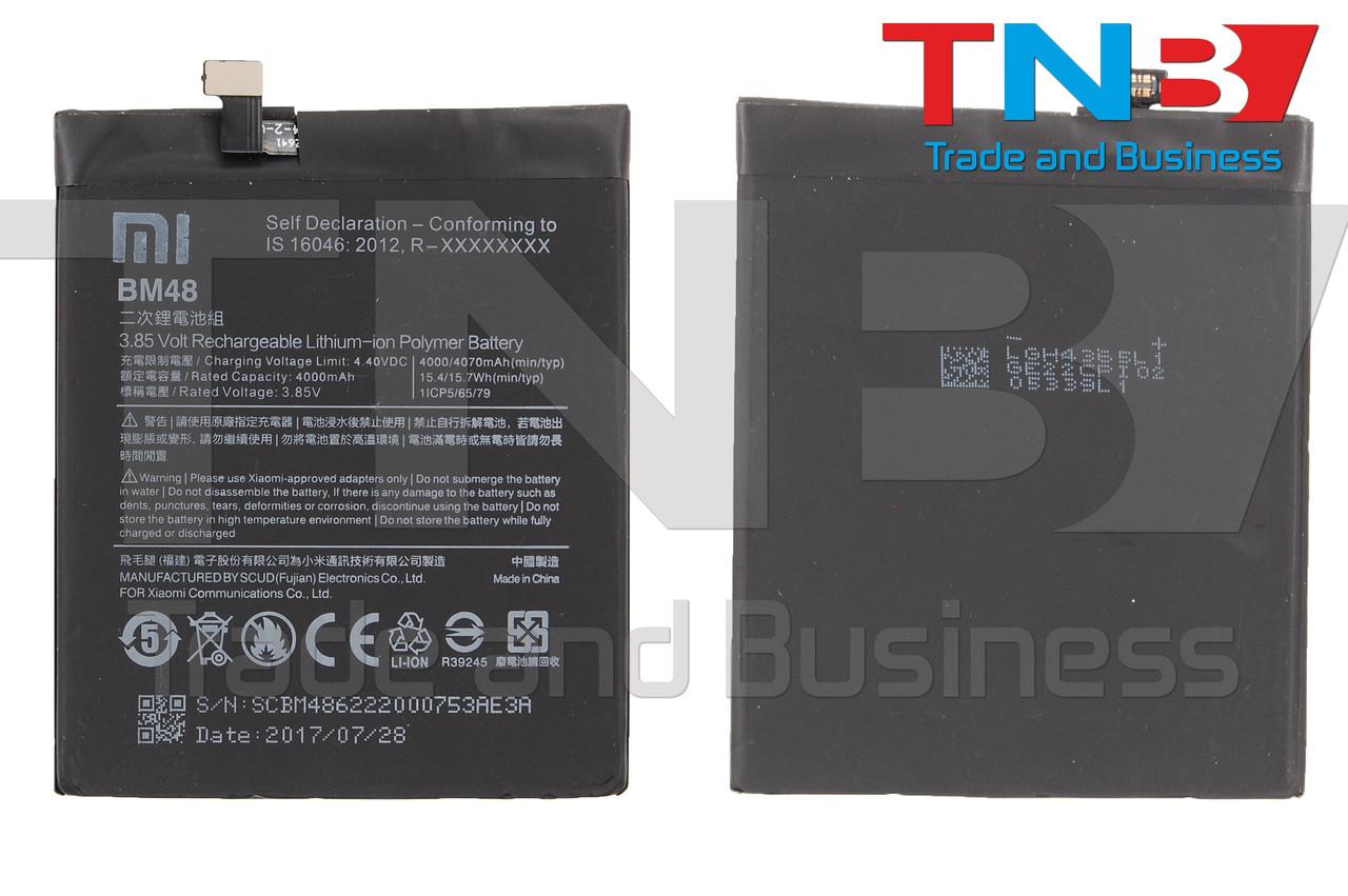 Батарея XIAOMI BM48 XIAOMI Mi Note 2 Li-ion 3.85V 4000mAh ОРИГИНАЛ НП