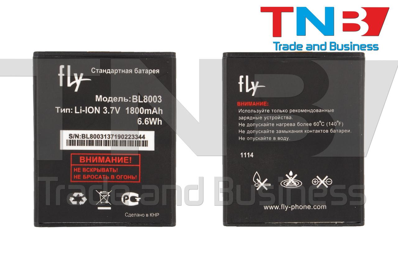 Батарея FLY BL8003 X4030F0026 FLY IQ4491 Quad ERA Life 3 Li-ion 3.7V 1800mAh ОРИГИНАЛ