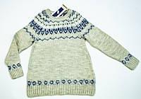 Вязаный свитерок для девочки на 9-14 лет, фото 1