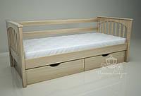 """Кровать одноярусная  """"Гармония"""" Natural. Ясень., фото 1"""