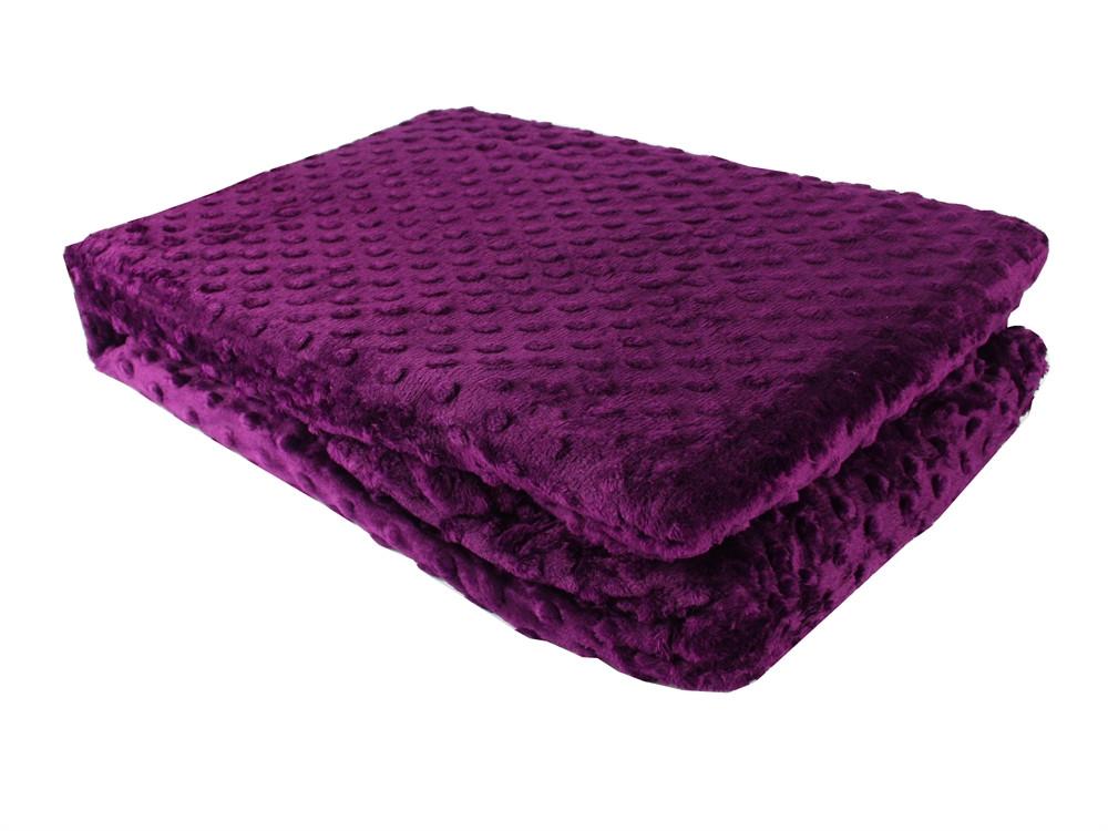 Покривало-плед 150х220 HOBBY TOMURCUK фиолетовый