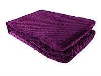 Покривало-плед 150х220 HOBBY TOMURCUK фиолетовый, фото 1