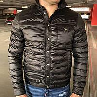 Мужская зимняя куртка Moncler Caph Jacket Black