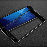 Защитное стекло Xiaomi Redmi Note 5A / Note 5A Prime Full cover черный 0,26мм в упаковке
