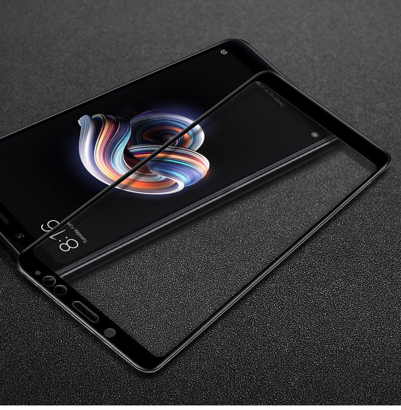 Защитное стекло Xiaomi Redmi Note 5 / Note 5 Global / Note 5 Pro Full cover черный 0,26мм в упаковке