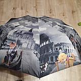 Зонт полуавтомат с принтом, фото 3